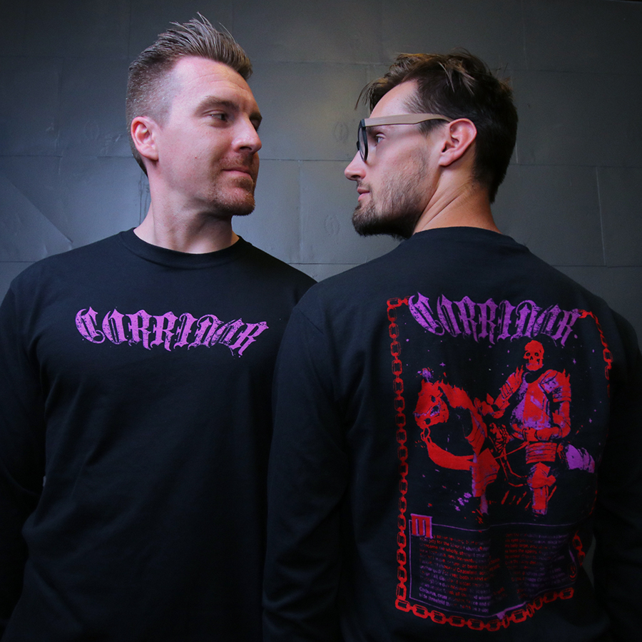'METAL & MAGIC' LONG SLEEVE T-SHIRT  $32.99