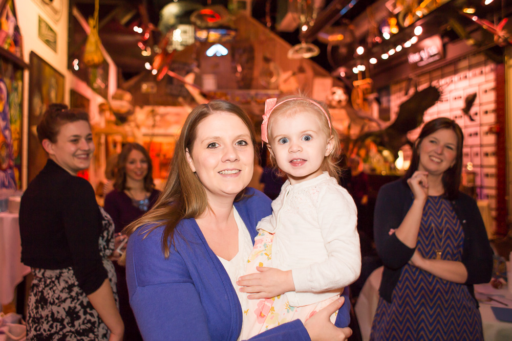 Bridal shower candids at Artisan Works | Rochester, NY Photography