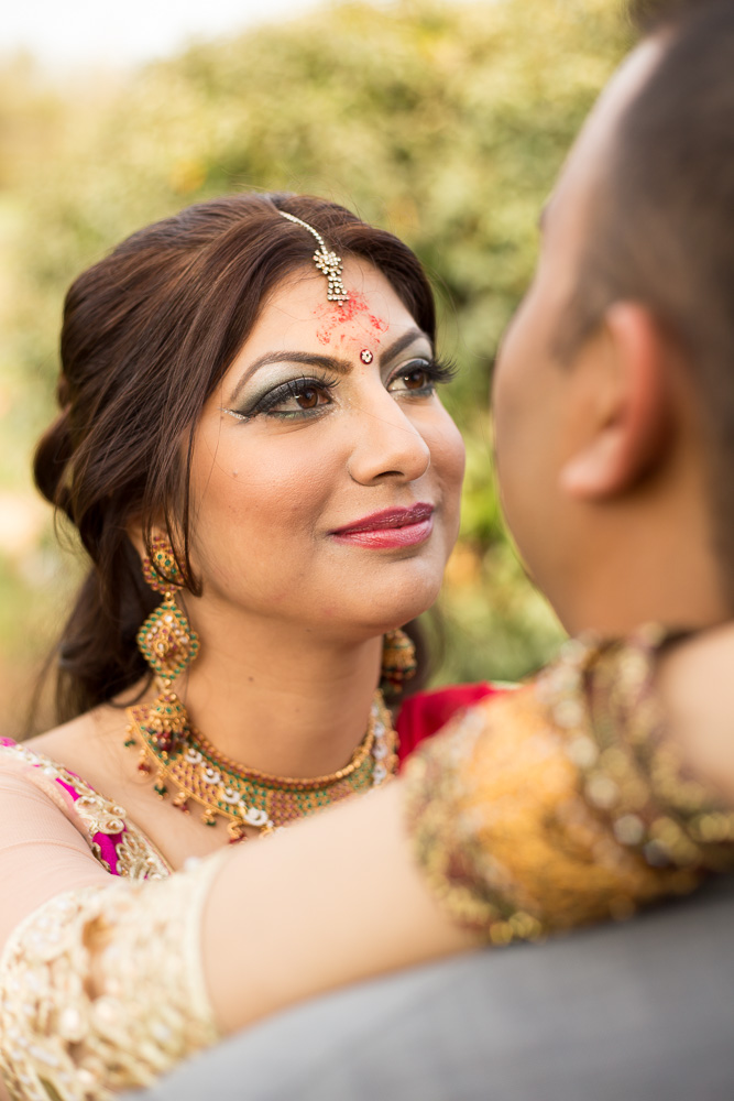 Hindu bride and groom | Indian wedding photography | Chantilly, VA