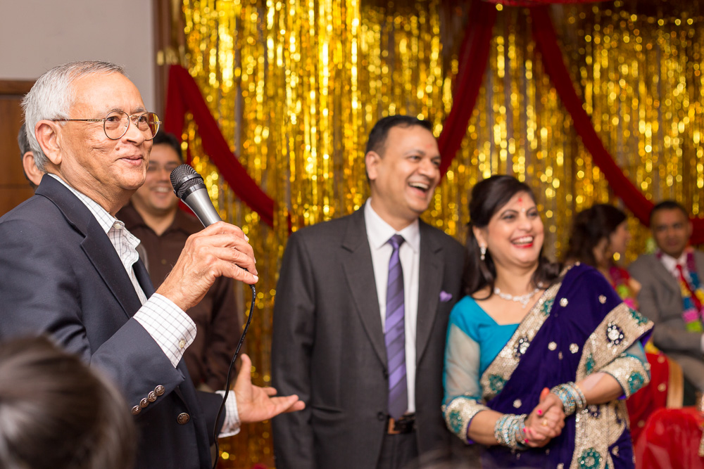 Fun toasts after the ceremony | Documentary wedding photographer | Megan Rei Photography