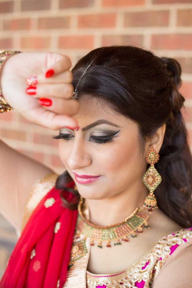 Beautiful Nepali bride | Northern Virginia Wedding Photographer | Megan Rei Photography