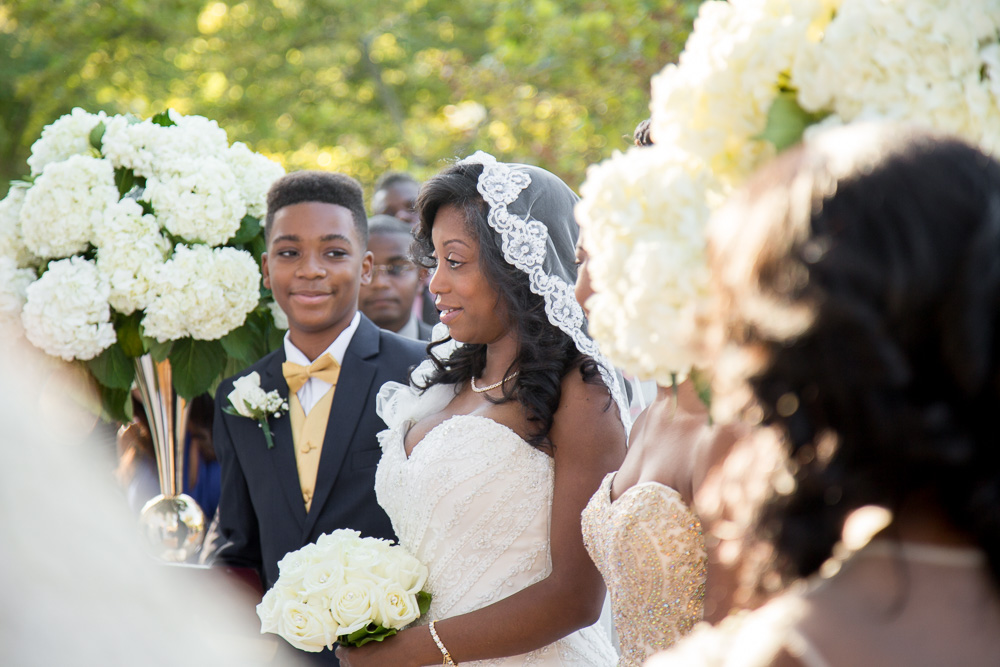 Daughters of the American Revolution Constitution Hall Wedding Ceremony | Megan Rei Photography