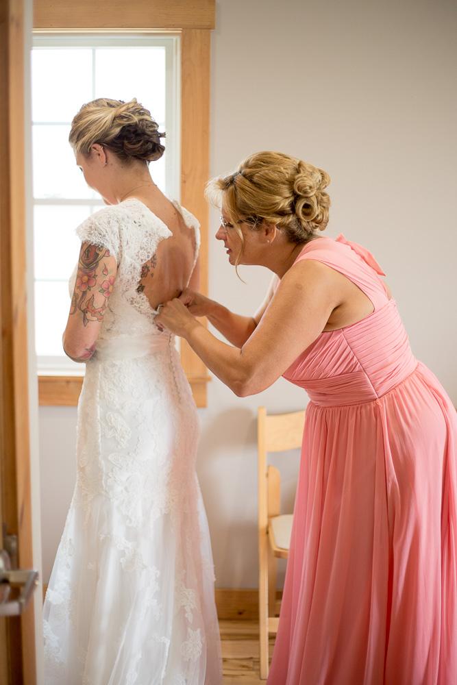 Megan Rei Photography | Linganore Winecellars Wedding
