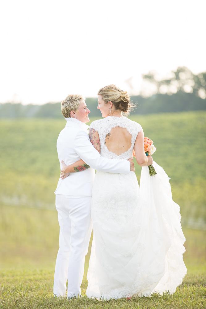 Sweet couple on their wedding day | Washington DC Wedding Photographer