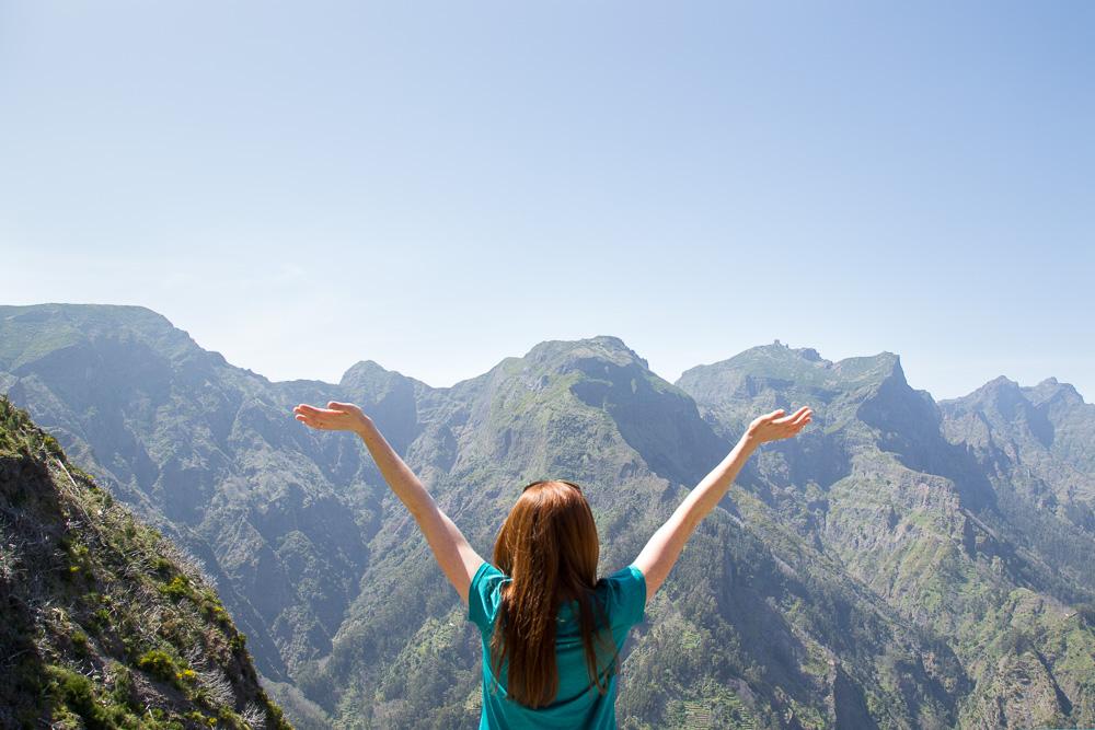 The view at Curral das Freiras, Madeira, Portugal | Megan Rei Photography | Travel Blog