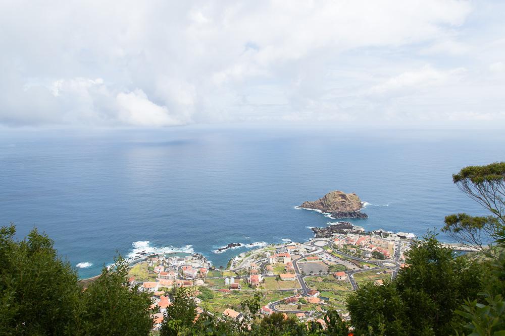 Ocean view over Porto Moniz | Visiting Madeira