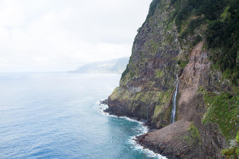 Véu da Noiva | Bridal Veil Waterfall in Madeira, Portugal