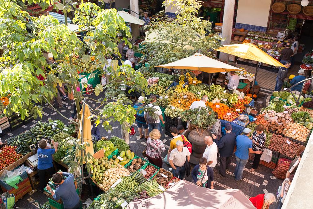 Mercado dos Lavradores, Funchal | Megan Rei Photography | Travel Photos