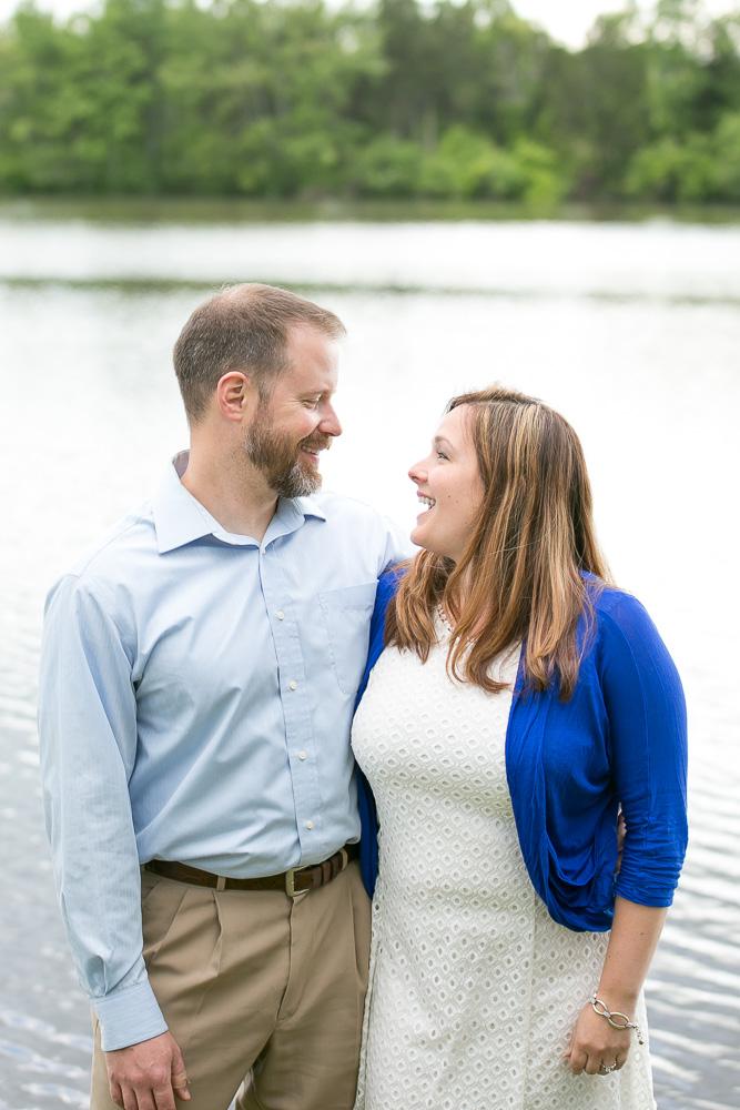 Kayti and David   Mountain Run Lake Engagement Session