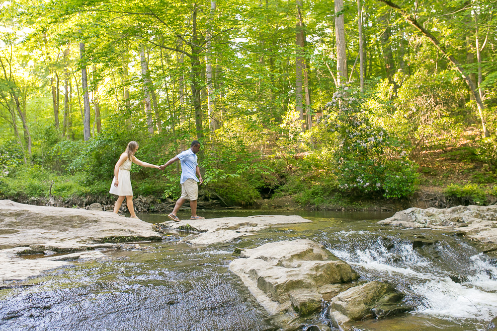 Nature lovers engagement shoot | Prince William Forest Park | Northern Virginia Engagement Photographer