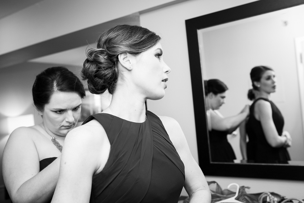 Bridesmaids getting ready | Rochester, NY Documentary Wedding Photographer