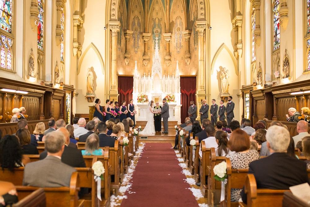 Beautiful church in Rochester, NY | Chapel Hill Wedding Venue | Megan Rei Photography