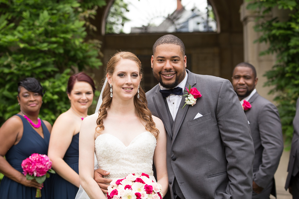 Best Places to Take Wedding Photos in Rochester, NY | George Eastman Gardens | Megan Rei Photography