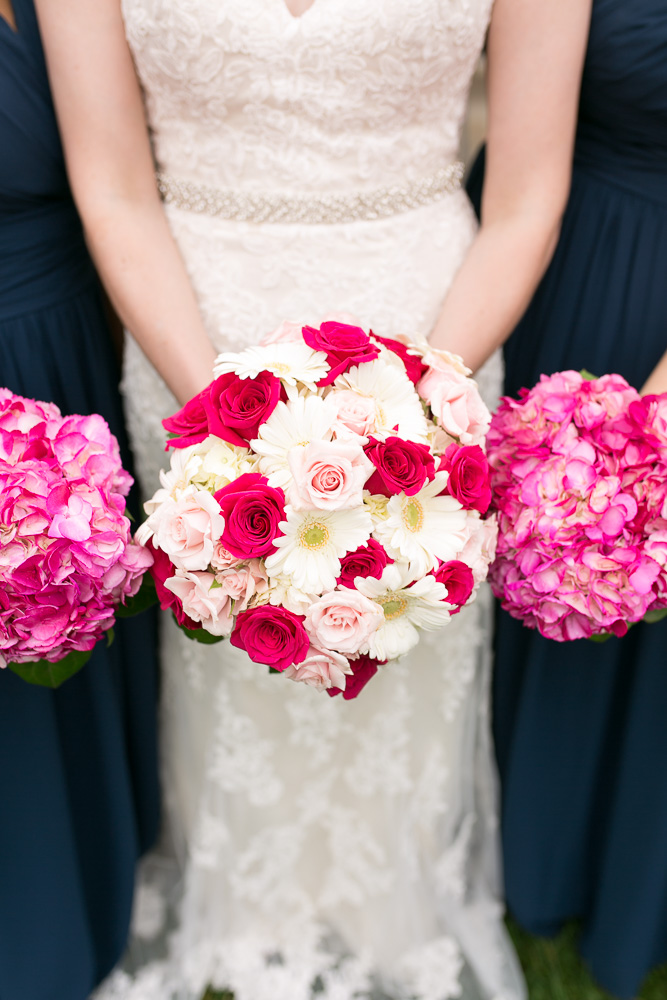 Wedding bouquets from Wegmans | Wedding Details | Megan Rei Photography