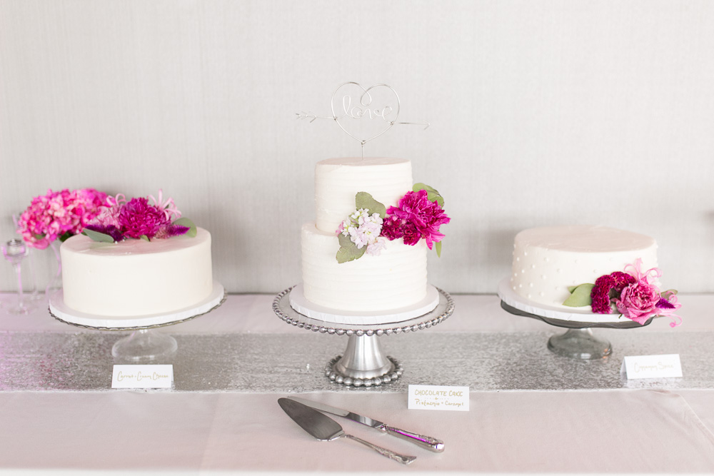 Wedding cakes by Scratch Bakeshop in Rochester, NY | Strathallan Weddings