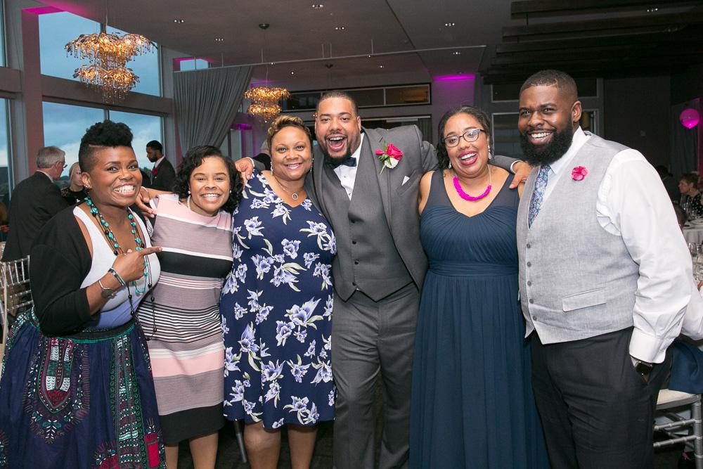 Wedding reception photos at The Strathallan | Rochester, NY Wedding Photography