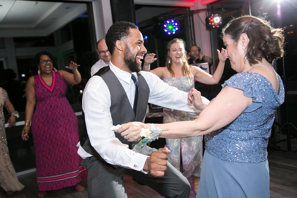 Fun dancefloor in Rochester, NY | Favorite Wedding DJs | DJ Ara from Breakthrough Entertainment