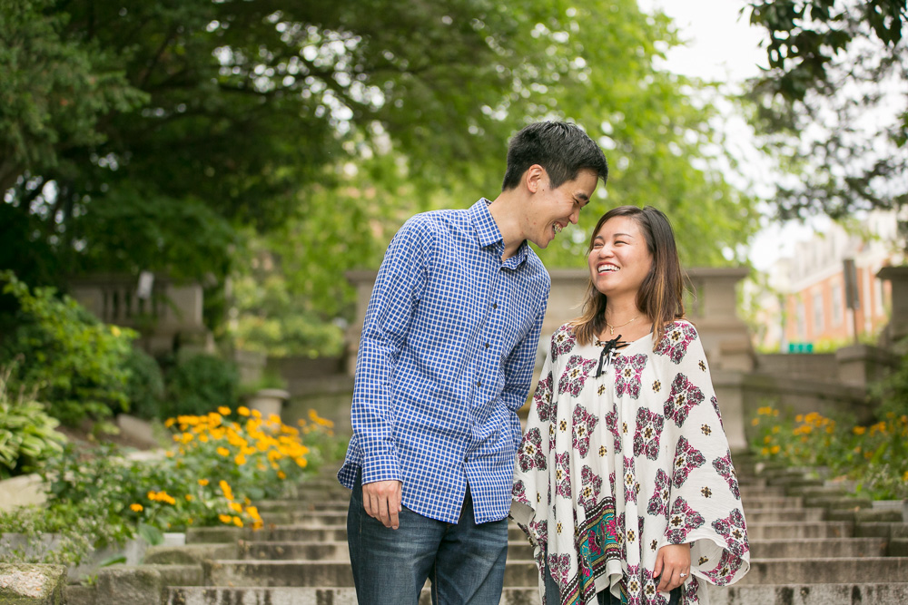 Happy moments after surprise proposal | Candid DC Photographer