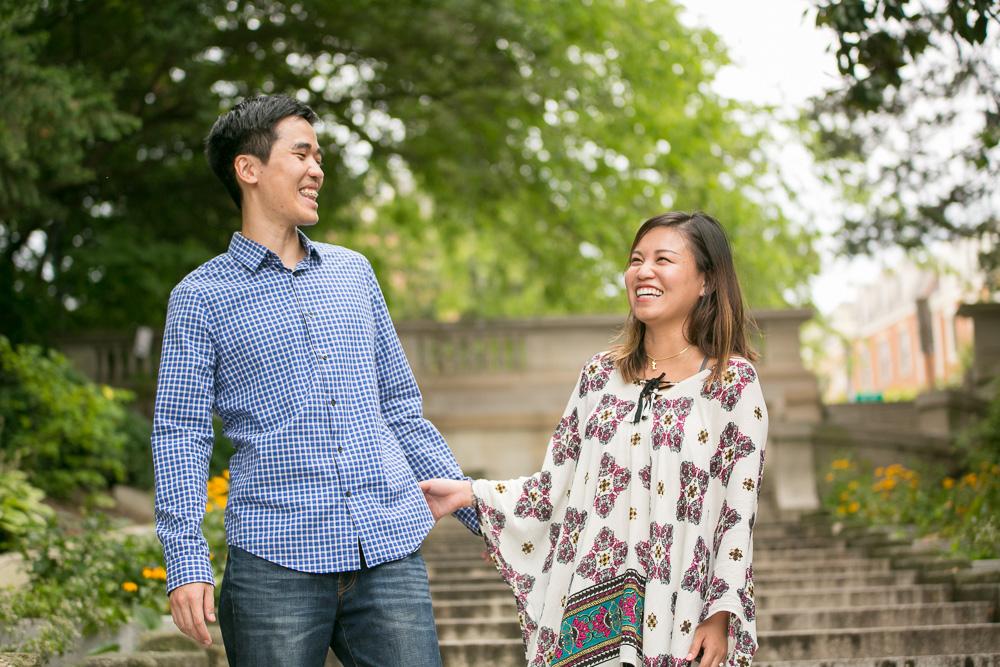 Candid Engagement Photography | Washington DC Wedding Photographer