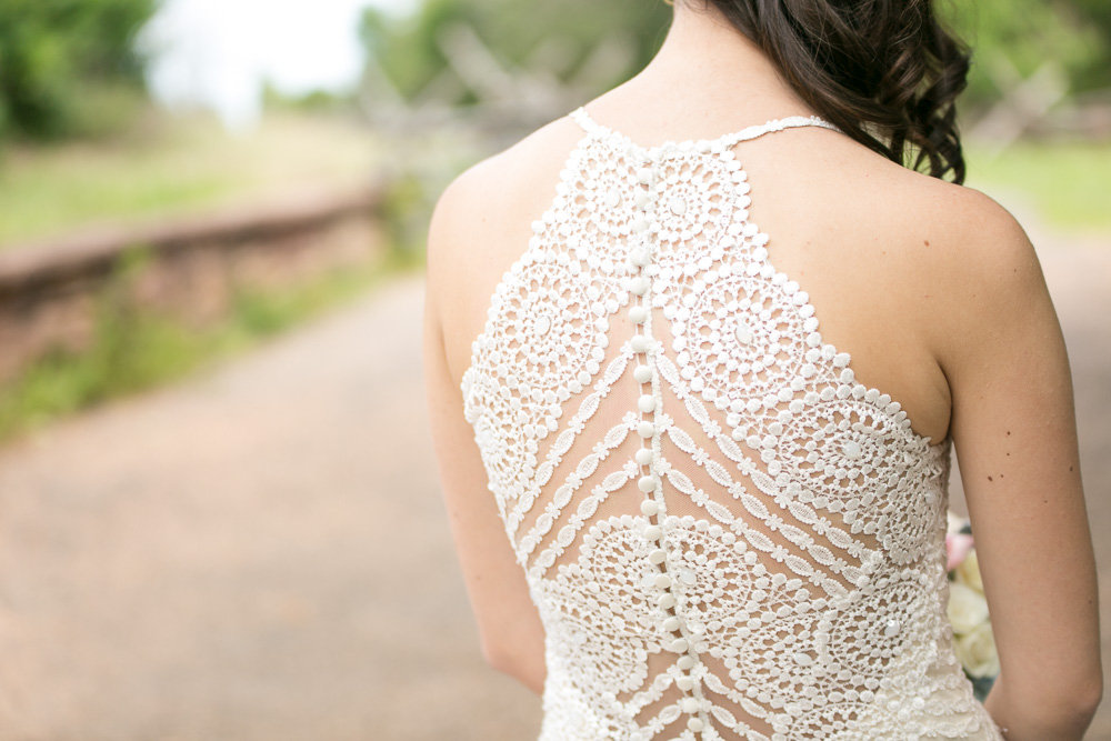 Intricate wedding dress details | Wedding dress by Maggie Sottero Designs from Bridals by Elena | Northern Virginia Wedding Dresses