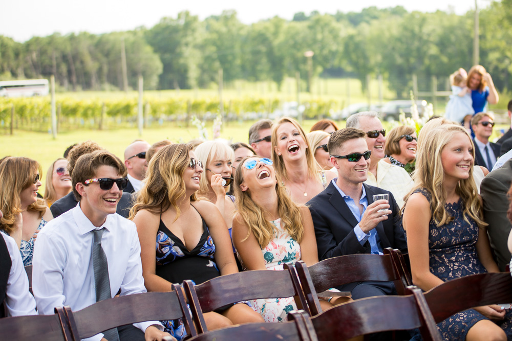 Photojournalism style wedding photography in Washington, DC | Capturing candid, happy moments at Winery at Bull Run