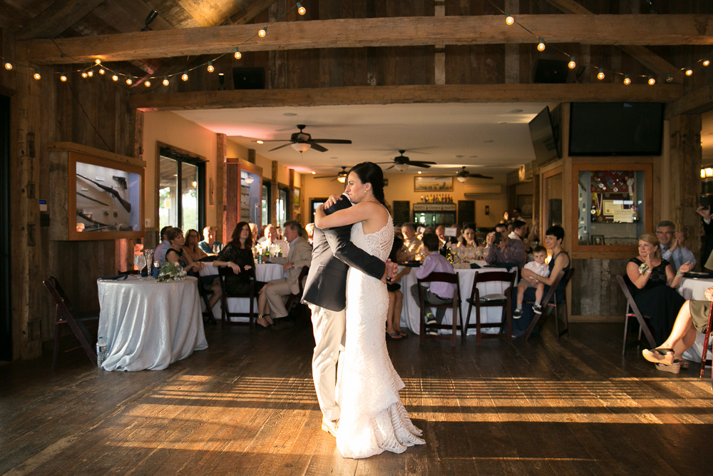 First dance at Winery at Bull Run wedding reception | Music by Perpetual Sound DJ | Best Northern Virginia DJs