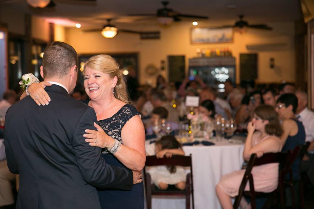 Mother son dance | Winery at Bull Run Wedding Reception | Music by Craig Wood of Perpetual Sound DJ