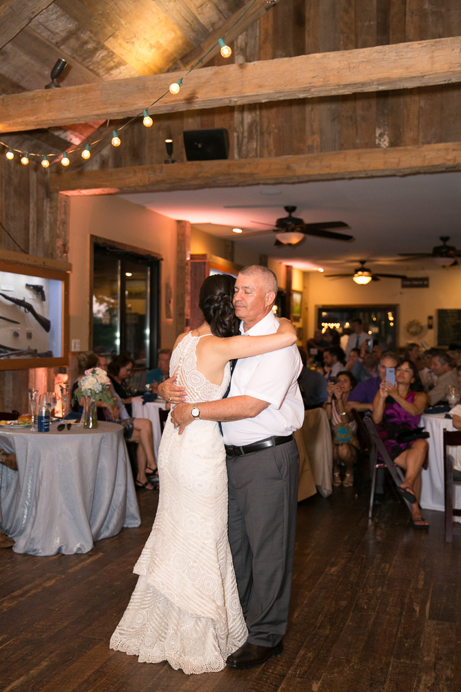 Father daughter dance | Candid Wedding Photography Northern Virginia