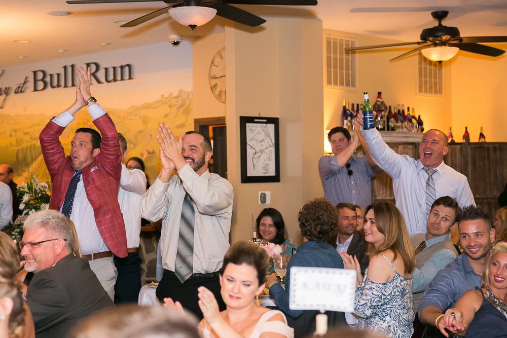 Happy wedding guests | Northern Virginia candid wedding photographer
