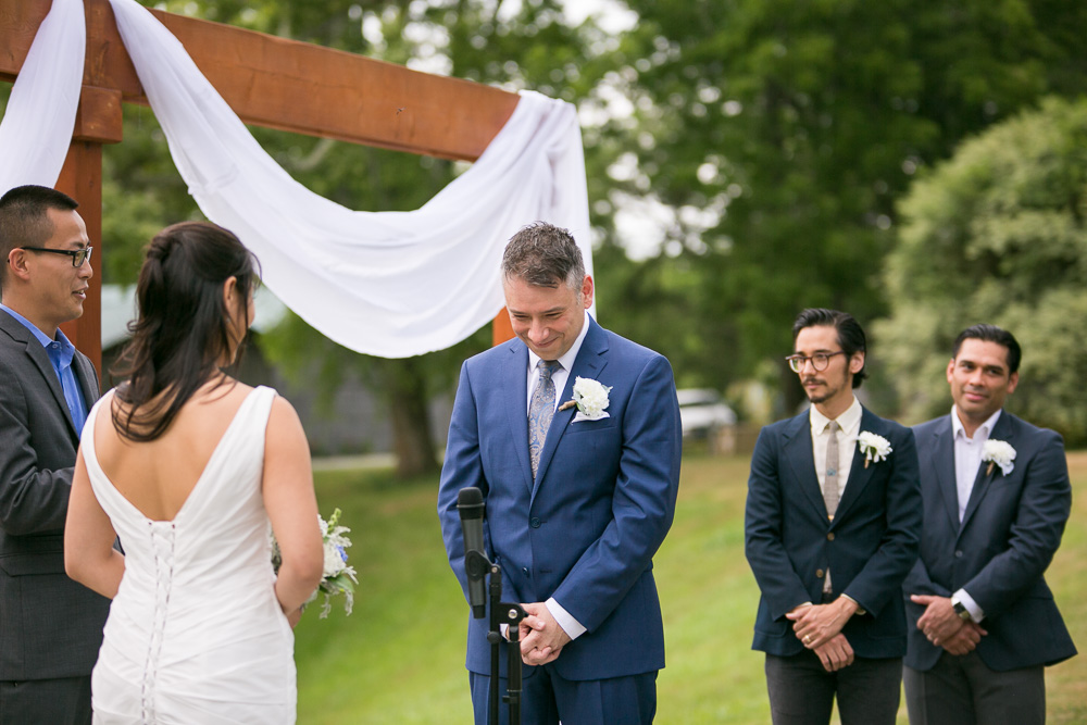 Wedding ceremony in Culpeper, VA | Documentary Wedding Photography