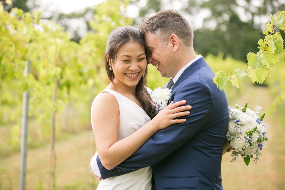A beautiful vineyard wedding at Mountain Run Winery | Best Northern Virginia Wedding Venues