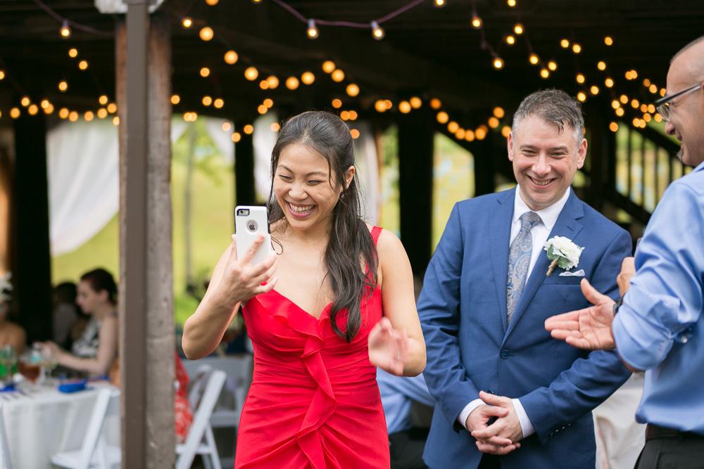 A fun barn wedding reception in Culpeper | Winery Wedding in Virginia