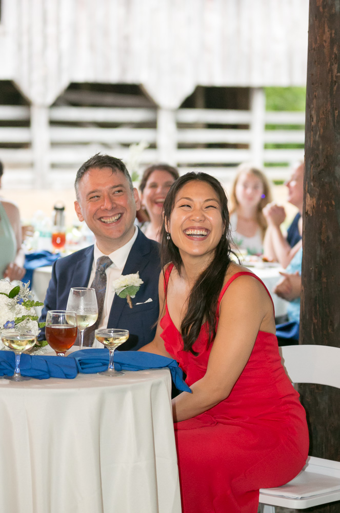 Funny wedding toasts | Documentary Virginia Photographer