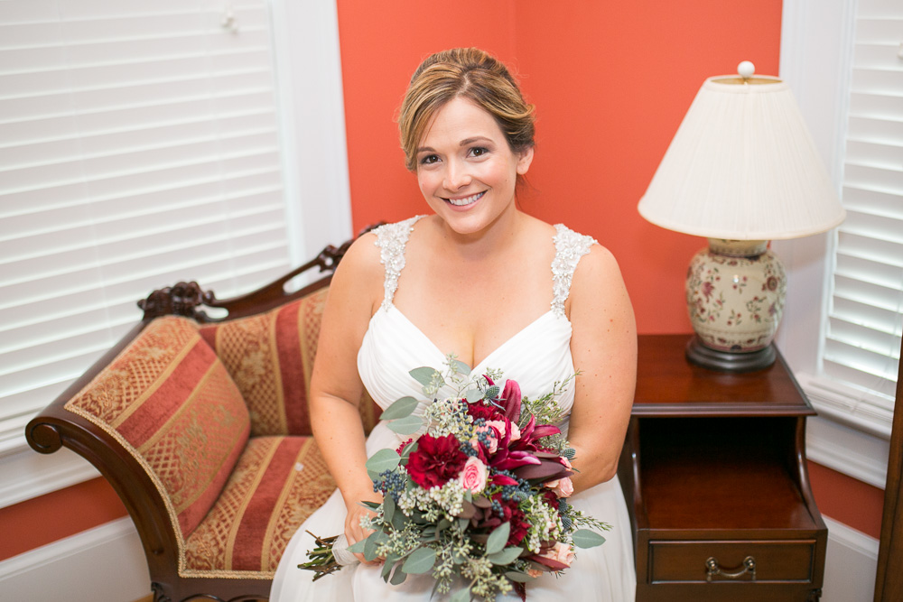 Bridal portrait at Mountain Run Winery | NorthernVirginia Wedding Photographer | Megan Rei Photography