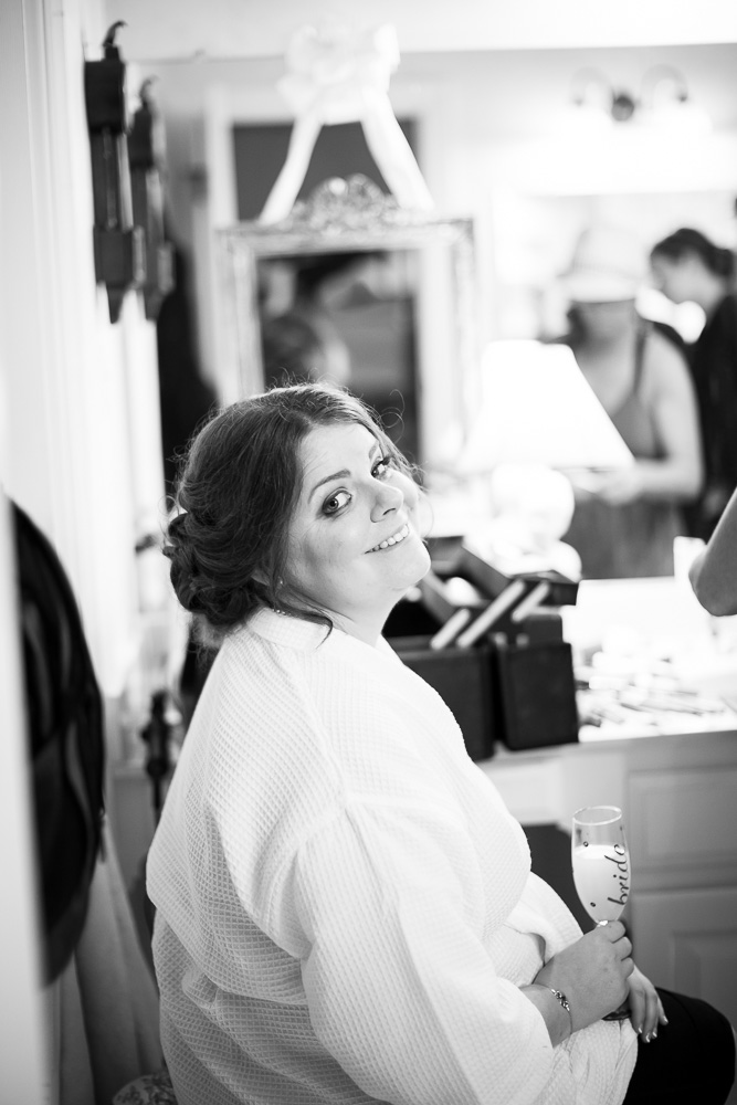 Bride getting ready for her wedding | Richmond Wedding Photographer