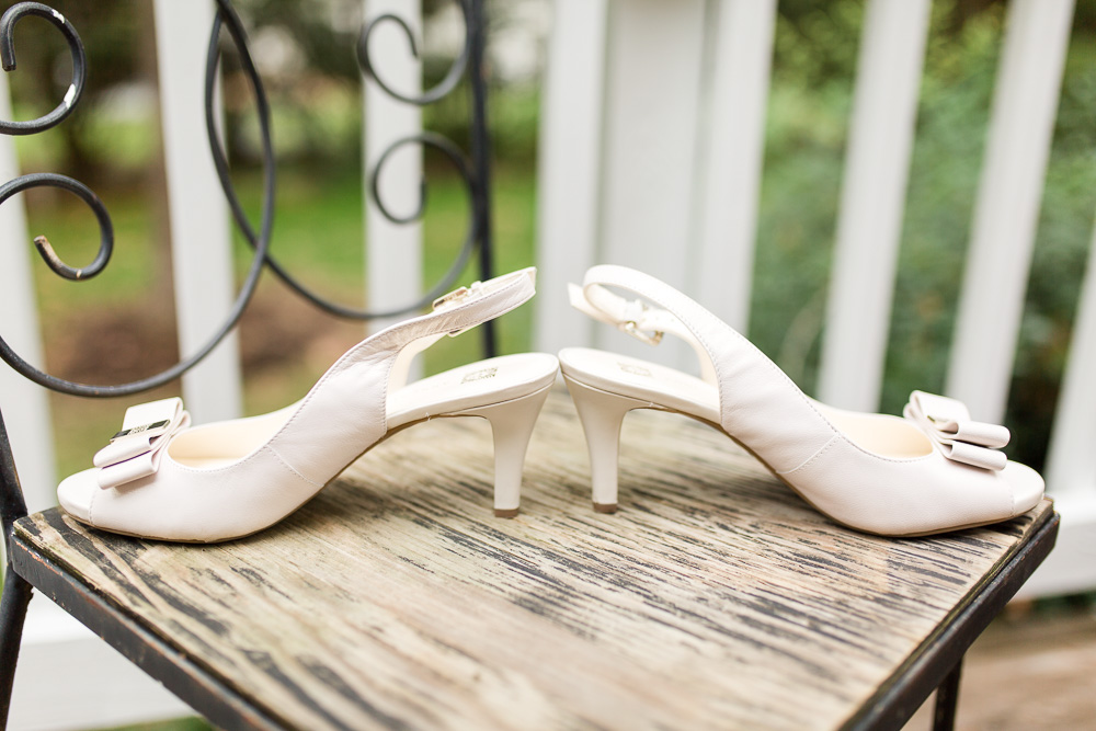 Bride's wedding heels | Wedding detail photos in Richmond, Virginia