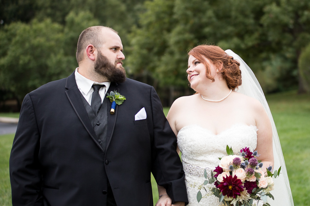 Funny wedding photo with angry groom | Richmond, VA