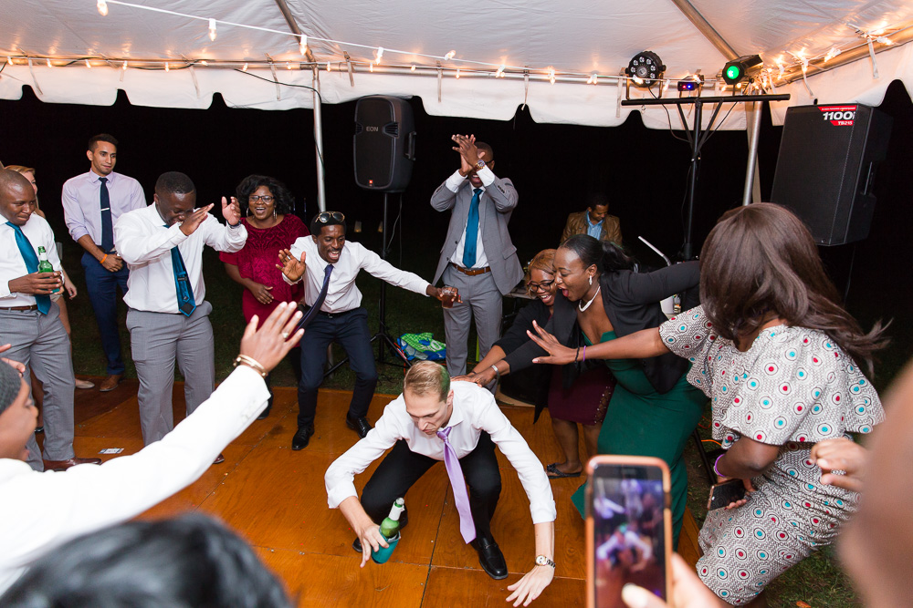 Fun dancing pictures at Mountain Run Winery | Candid Culpeper Photographer