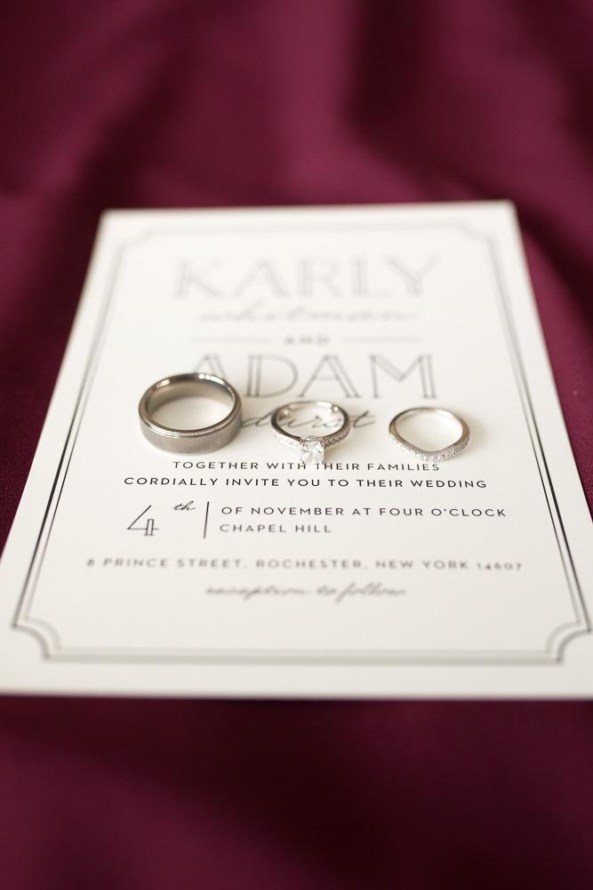 Invitation by Basic Invite | Rochester NY Wedding