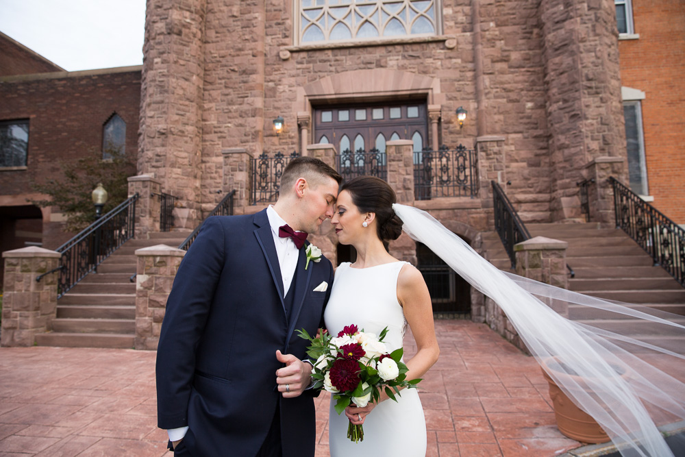 Best Wedding Venues in Rochester NY | Bride and Groom at Chapel Hill