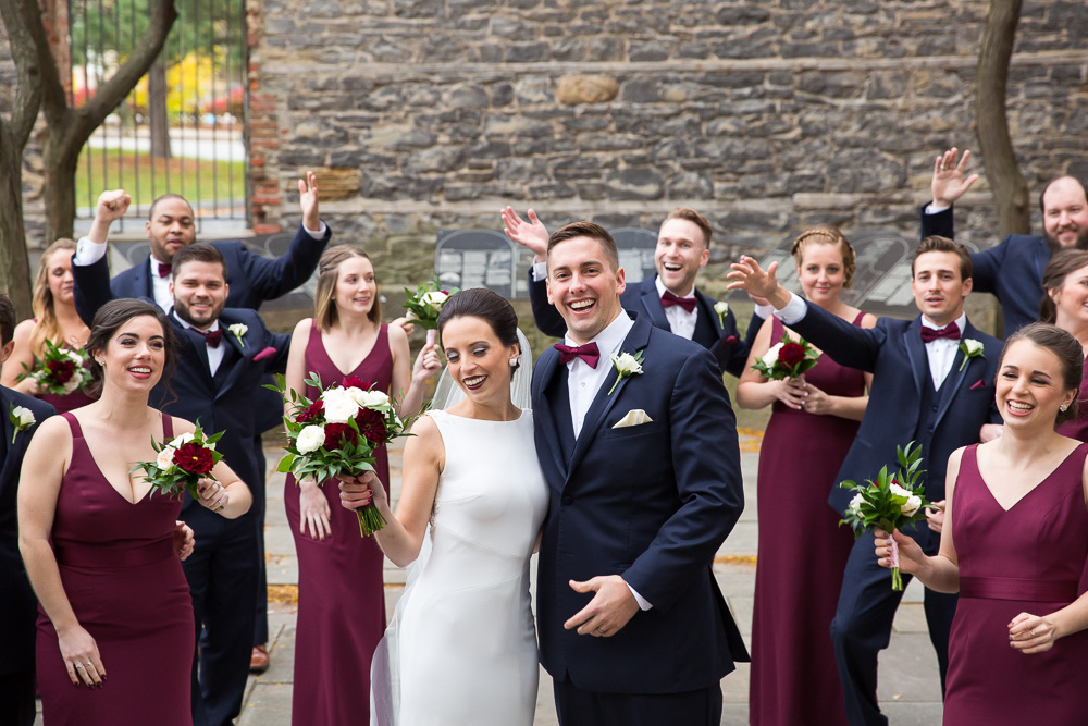 Best places for wedding photos in Rochester, NY | St. Joseph's Park | Fun Wedding Photographer | Megan Rei Photography