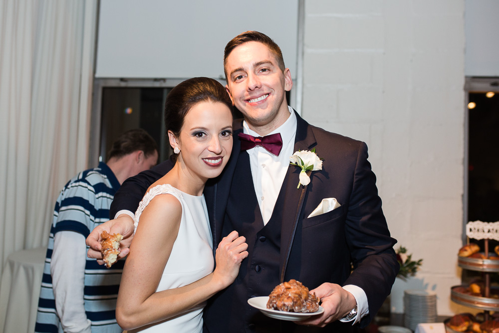 Donuts instead of wedding cake | Ridge Donut Café in Rochester, NY