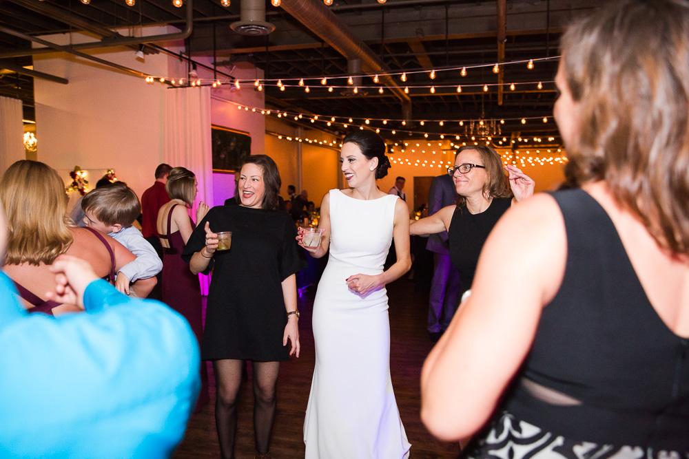 Colorful uplighting at Arbor Loft | Breakthrough Entertainment | Rochester NY Wedding Photographer