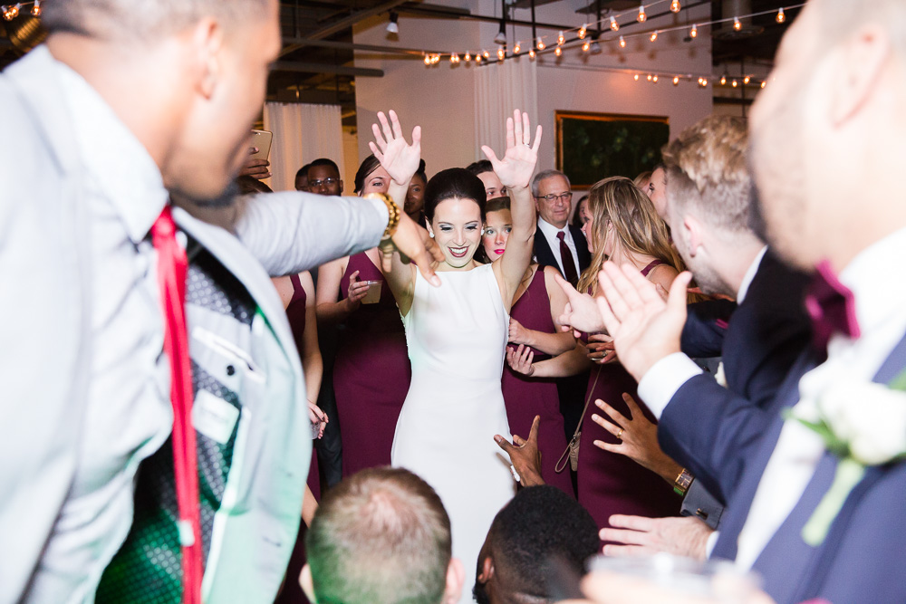 Fun dancing photos at Rochester Wedding | Western New York Candid Wedding Photographer