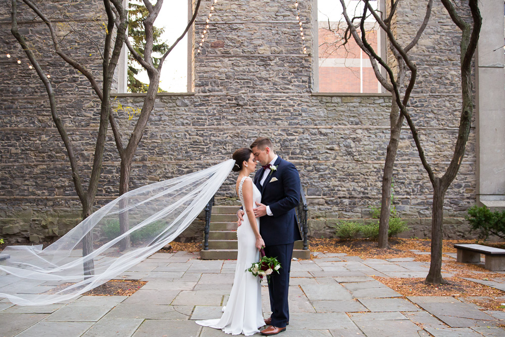 Beautiful wedding photos at St. Joseph's Park in Rochester, NY | Rochester Wedding Venues | Megan Rei Photography