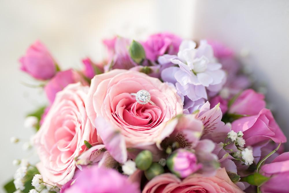 Wedding bouquet by Twin Towers Florist | Washington, DC Wedding at the DC War Memorial