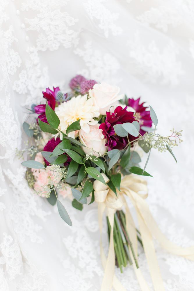 Wedding bouquet by The Arranger's Market in Richmond Virginia