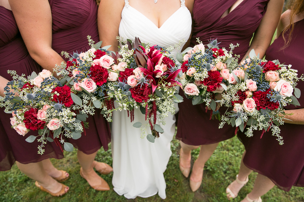 Fall wedding bouquets from Randy's Flowers by Endless Creations in Culpeper, VA