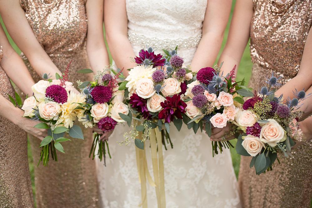 Wedding flowers from The Arranger's Market in Richmond, VA