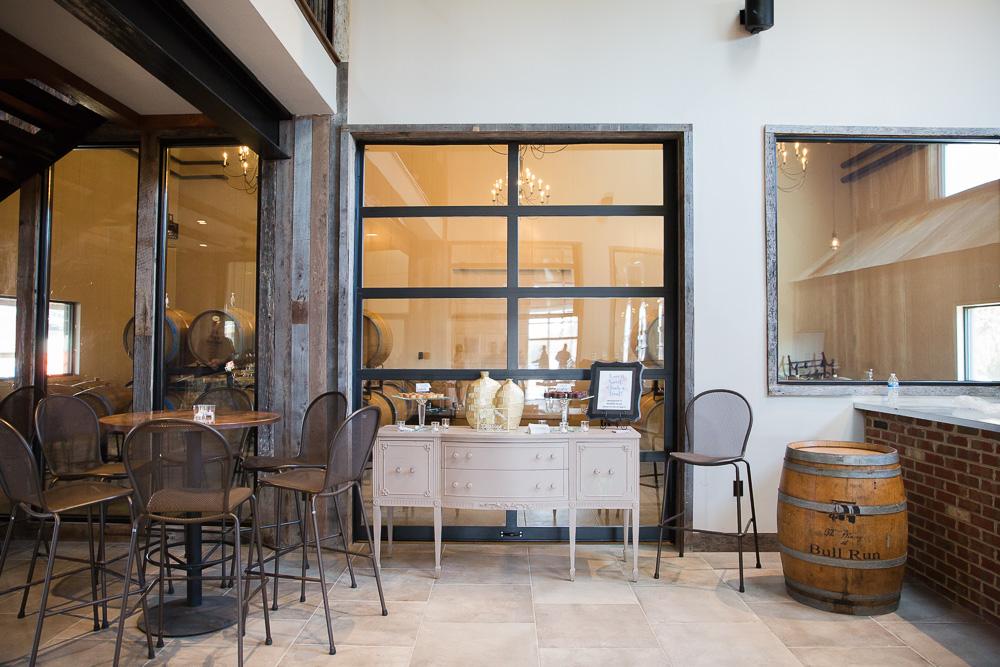 New production barn at the Winery at Bull Run | Centreville, VA | Virginia Winery Wedding Venue